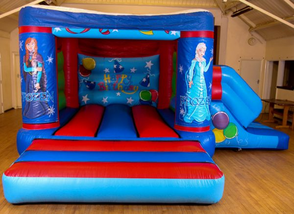 Frozen 17 x 15 Velcro Castle With Slide – Changeable Themes