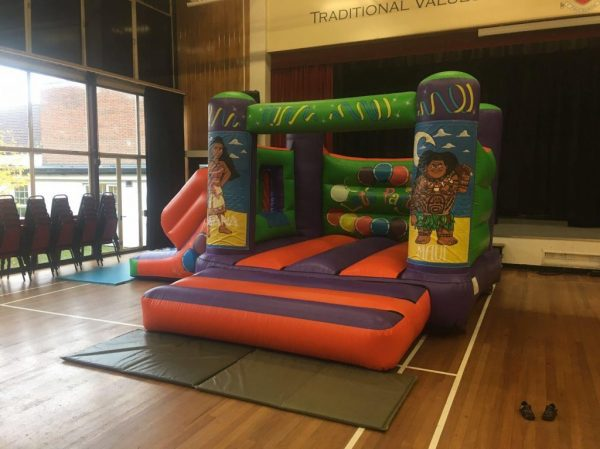 Moana 17 x 15 Velcro Castle With Slide – Changeable Themes
