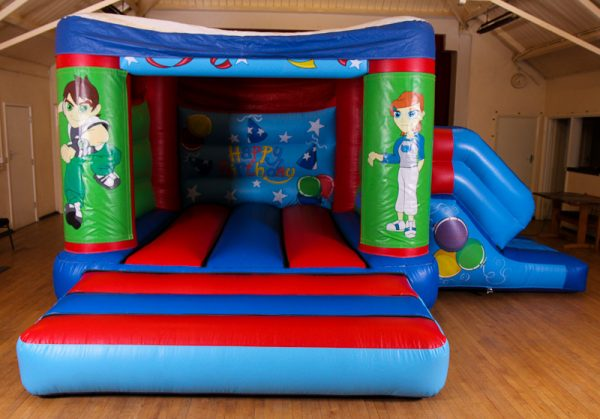 Ben 10 17 x 15 Velcro Castle With Slide – Changeable Themes
