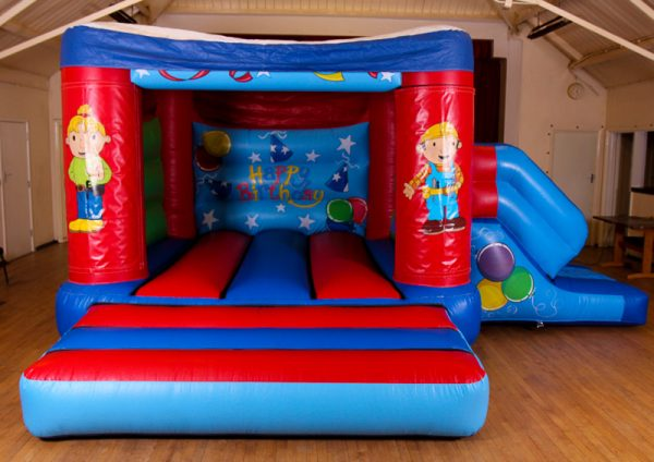 Bob the Builder 17 x 15 Velcro Castle With Slide – Changeable Themes