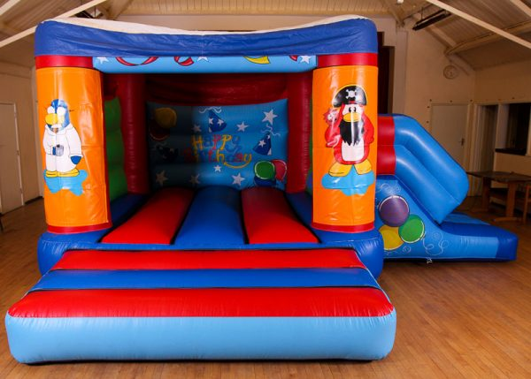 Club Penguin 17 x 15 Velcro Castle With Slide – Changeable Themes