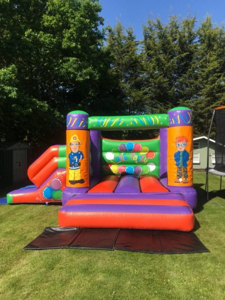 Fireman Sam 17 x 15 Velcro Castle With Slide – Changeable Themes