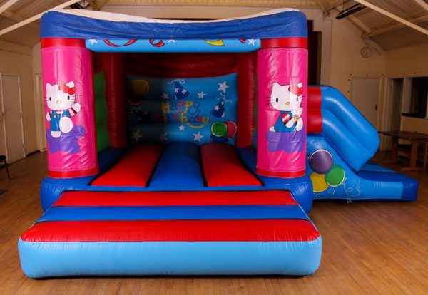 Hello Kitty 17 x 15 Velcro Castle With Slide – Changeable Themes