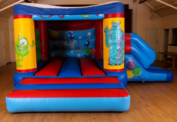 Monsters Inc 17 x 15 Velcro Castle With Slide – Changeable Themes