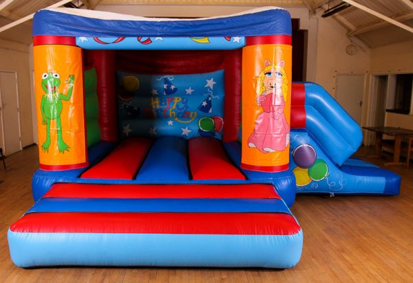 The Muppets  17 x 15 Velcro Castle With Slide – Changeable Themes