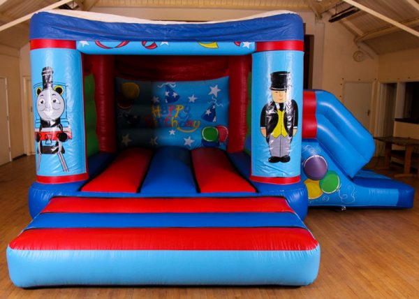 Thomas 17 x 15 Velcro Castle With Slide – Changeable Themes
