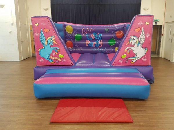 Unicorn 8ft bouncy castle