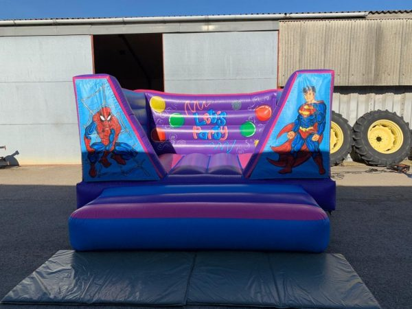 Super Hero 8ft Bouncy Castle