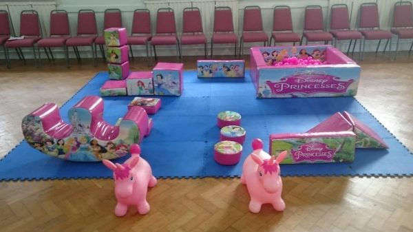 Disney Princess Deluxe Soft Play Set
