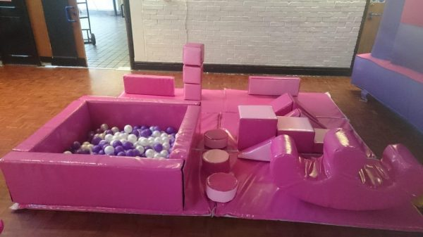 Just Pink Soft Play Set & Ball Pool