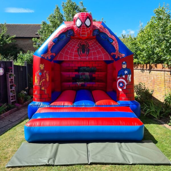 Spider-Man 3D Inflatable Head Castle