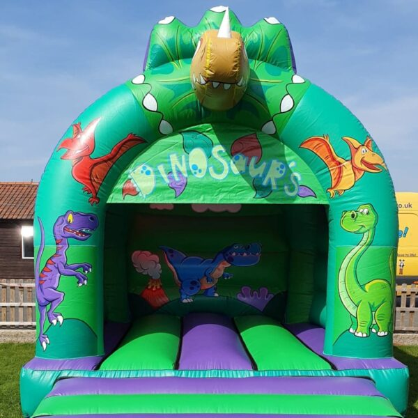 Dinosaur 3D Inflatable Head Castle