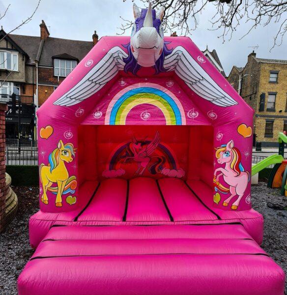 Unicorn 3D Inflatable Head Castle