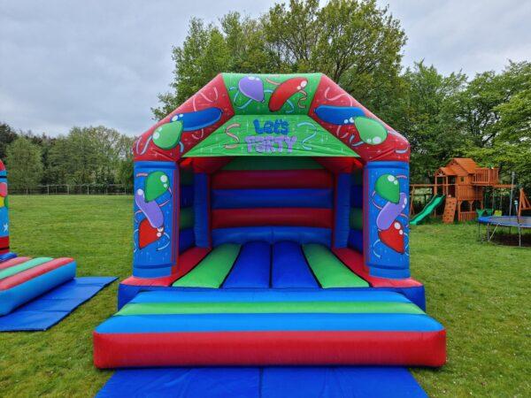 Let's Party Green & Blue Adult Castle
